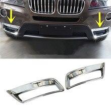 Для BMW X3 F25 ABS Решетка переднего бампера противотуманный светильник накладка 2011-2013 2 шт
