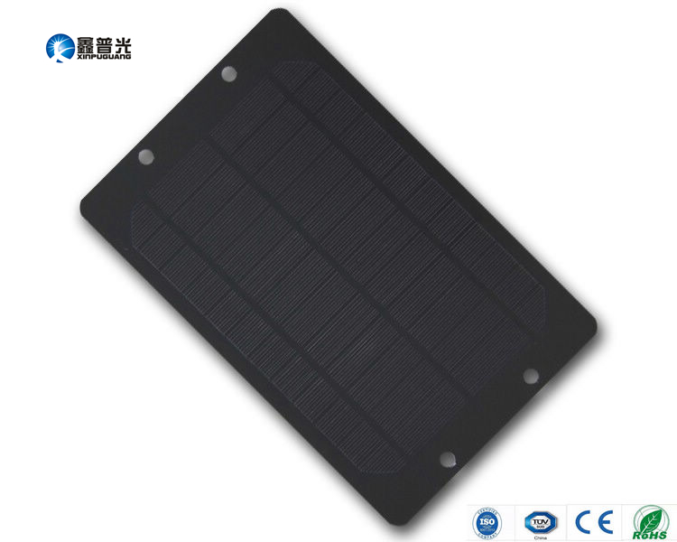 Xinpuguang 6V 6W PET laminated monocrystalline solar panel potable durable nice charger for GPS cellphone DIY toys 270*175*3mm