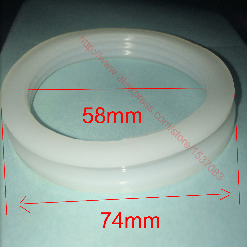 58mm inner diameter silicone sealing o ring gasket for solar water heater vacuum tube in Gaskets from Home Improvement