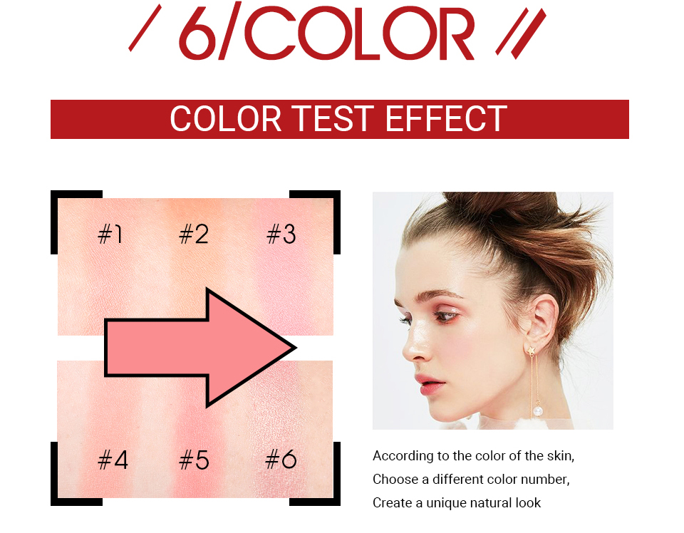 Bling Shimmer Mineral Powder Blusher Palette