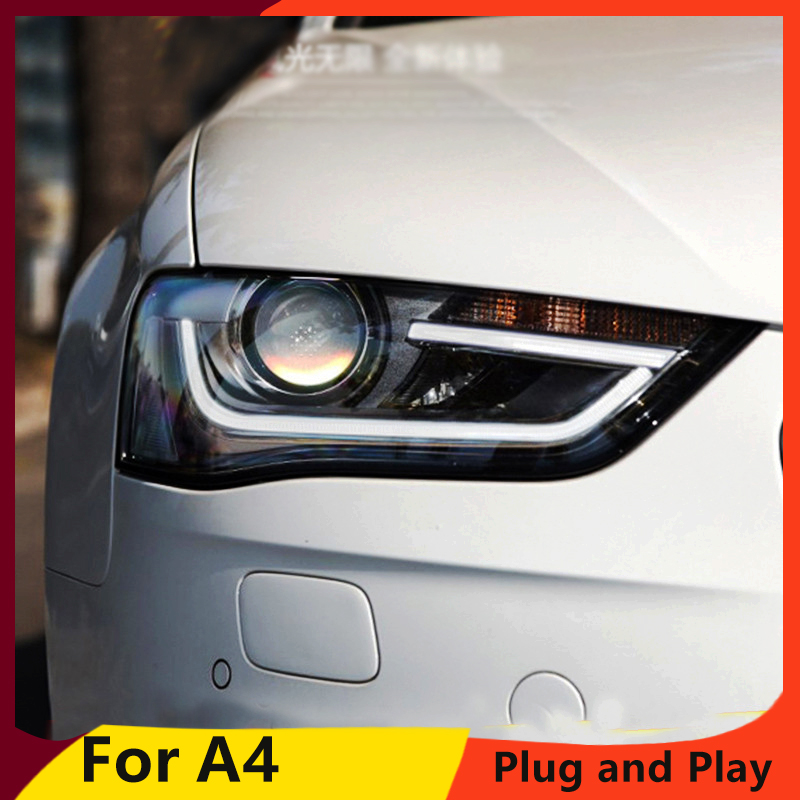 Audi A4 2015 Led Lights: KOWELL Car Styling For Audi A4 2014 2015 Headlights High