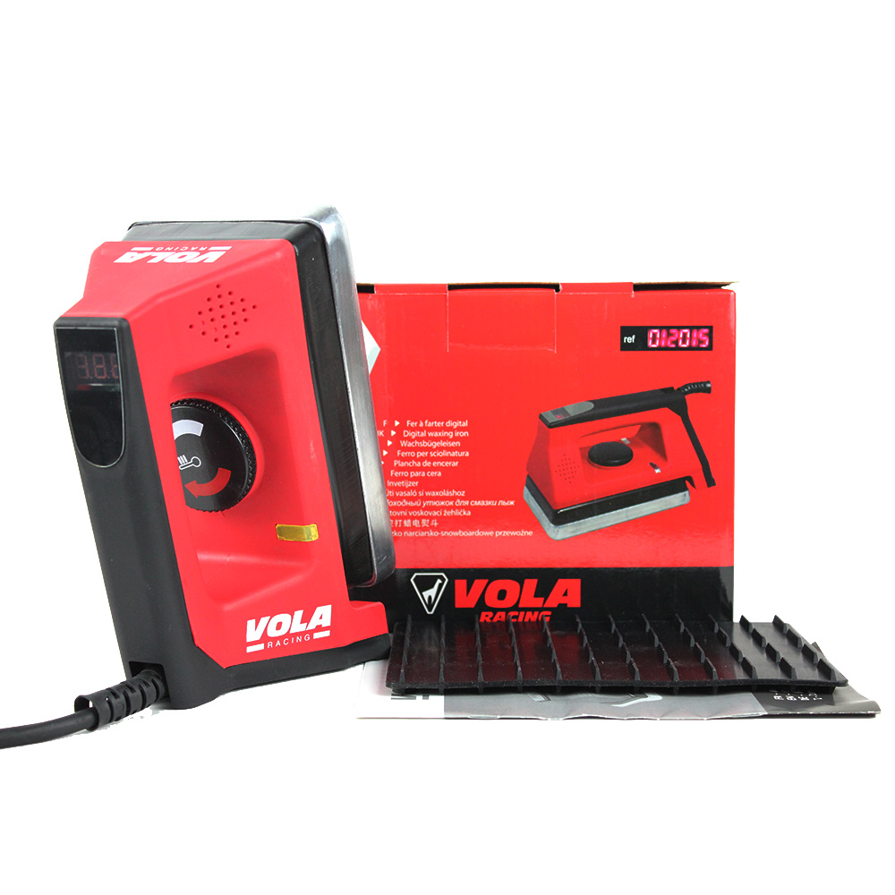 VOLA World Cup Digital Temperature Controlled Ski Snowboard Nordic Waxing Iron 230V 1000W Precise Controlling Temperature