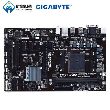Gigabyte GA-F2A58-DS3 AMD A58 Original Used Desktop Motherboard Socket FM2/FM2+ AMD A Athlon DDR3 64G SATA2 USB2.0 VGA DVI ATX