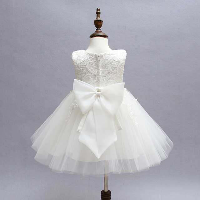 Newborn Baby Girls Dress Lace Christening Gown Baby Wedding Dresses ...