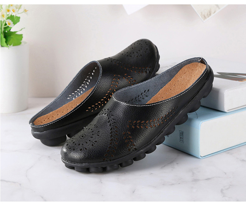 XY 991 Cut Outs Women's Summer Flats Shoes -8