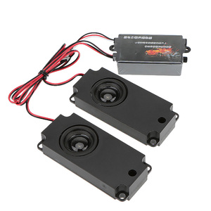 Image 2 - GoolRC RC Car Second Generation Cool Throttle Linkage Groups Engine Sound Simulator With 2 Speakers for RC Sports Car Model Part
