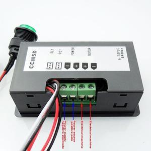 PWM DC Motor Speed Controller CCM LED Motor Controller Geschwindigkeit Regler 5D Digital Display LED Motor Controller Geschwindigkeit Regler