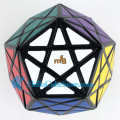 MF8 Starminx II(deep cut) ,also called Dino Dodecahedron Magic Cube Puzzle Black learning & education toys cubos magicos puzzles