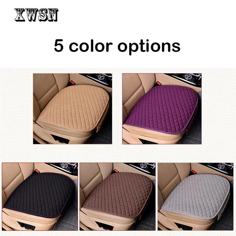 Image 3 - XWSN Linen car seat cover cushion suitable for 99% of the auto four seasons universal comfortable and breathable Car accessories-in Automobiles Seat Covers from Automobiles & Motorcycles