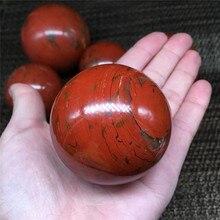 natural red jasper crystal quartz magic crystal sphere ball healing