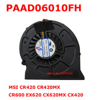 New Radiator Blower Cooler Fan For MSI CR420 CR420MX CR600 EX620 CX620MX CX420 Laptop CPU Processor