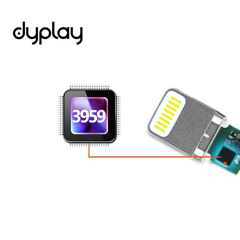 Dyplay для Lightning/USB адаптер OTG кабель зарядки для iPhone iPad iOS 11 фортепиано микрофон Audio Интерфейс клавиатура