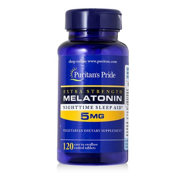 Rapid Release Melatonin 5 mg 120 Count Night Sleep Assistance free shipping free shipping melatonin 3 mg 240 pcs