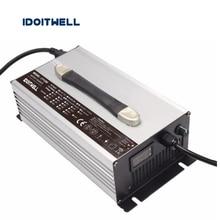 Personalizado 1200 W ajustável atual Carregador de Bateria 12 V 50A 40A 45A atual 3 estágios ajustável para bateria de chumbo ácido bateria de lítio ou lifepo4