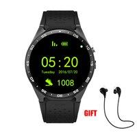 Android умные часы мужские часы AMOLED экран 512 МБ + 4 ГБ Smartwatch поддержка sim карты GPS wi fi камера Bluetooth наушники часы телефон