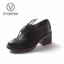 Q.vonton 2017 new fashion slip on women pumps high quality thick high heels platform shoes woman