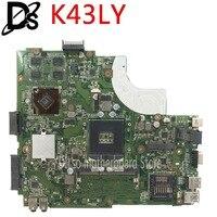 K50IJ K43LY Laptop motherboard For ASUS K43L X84HR K84HR HD6470M 1GB Mainboard K43LY motherboard laptop motherboard