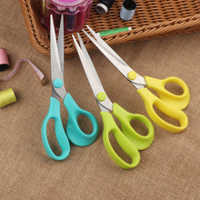 купить Tailor's Scissors Stainless Steel Sewing Scissors Household Crafts Office Home fabric cutter Embroidery Clothing Tool Supplies по цене 177.53 рублей