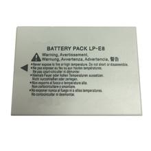 LP-E8 LP E8 lithium batteries pack LPE8 Digital camera battery For CANON 550D 600D 650D 700D X4 X5 X6i X7i T2i T3i T4i T5i