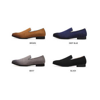 Mocassin Homme New Design Men Loafers Anti-skid Nonslip Casual Driving Shoes Basic Solid Color Men Shoes Summer`Loafers for Men
