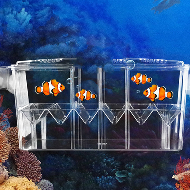 Fish Hatchery Aquarium Breeding Incubator - Multi-Function Double Layer Fish Tank 2