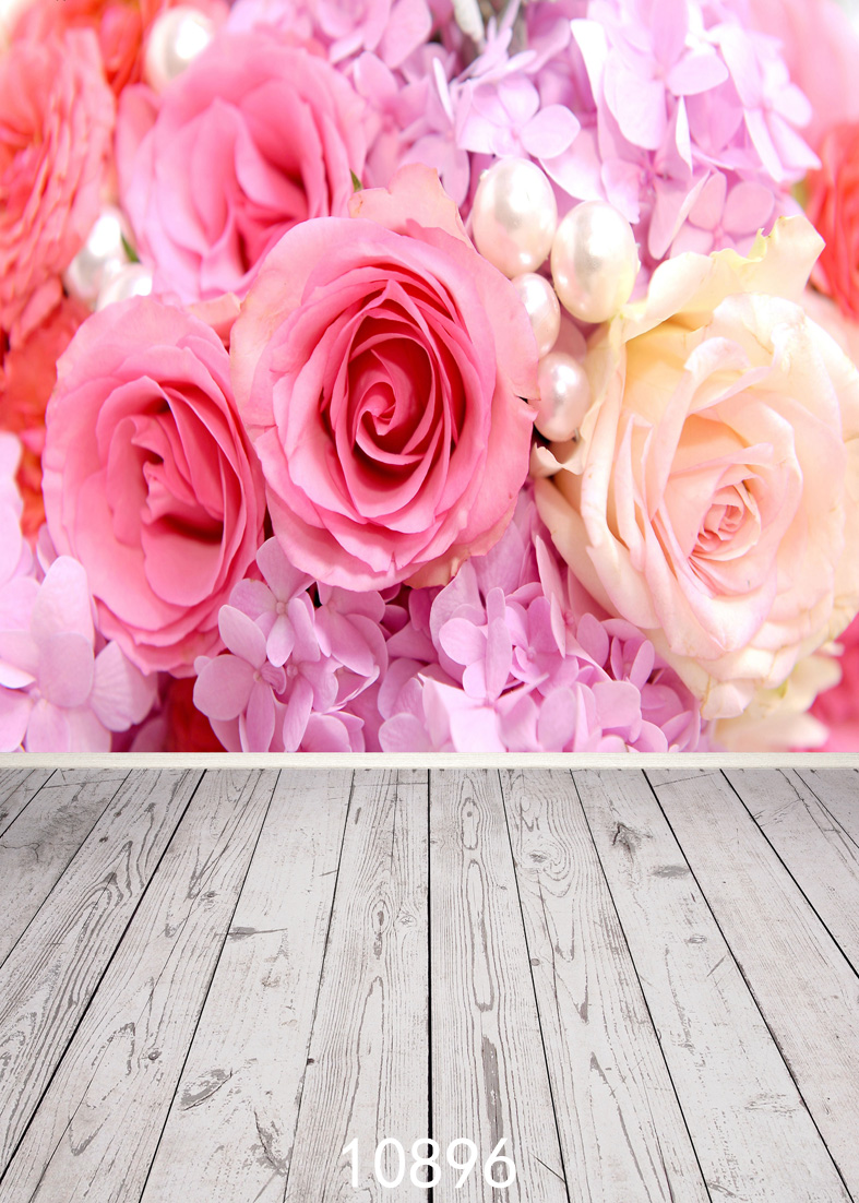 SHENGYONGBAO Art Cloth Custom Photography Backdrops Prop Valentine 39 s day Theme Photography Background 10896 in Background from Consumer Electronics