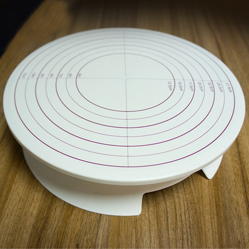 Cake Stand Kitchen Art : Aliexpress.com : Buy Rotating ABS Cake Decorating ...