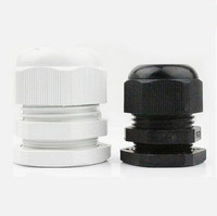 1pcs PG36 Nylon plastic Cable Glands/   spiral fixed waterproof cable connectors /cable fixed head