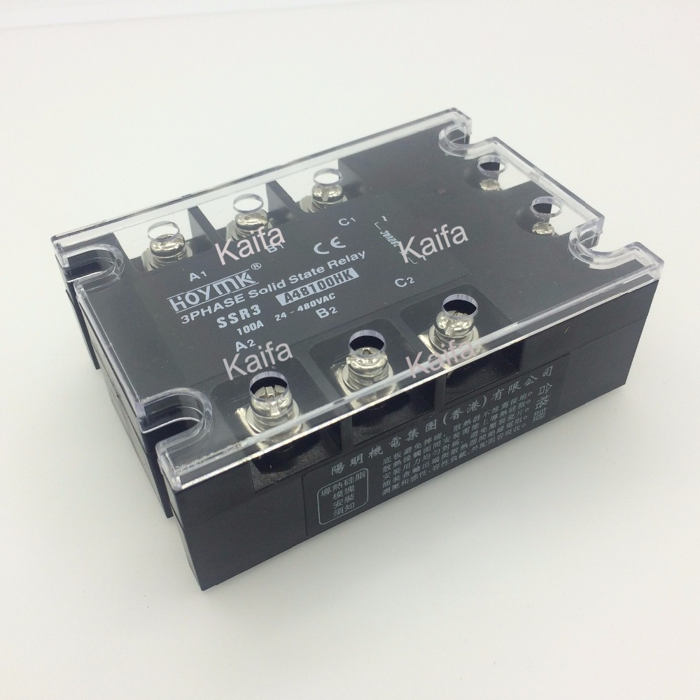 цена на wholesale genuine Solid State Relay SSR3-A48100HK 100A 24-480VAC