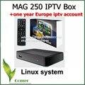 MAG 250 Con Sistema Linux IPTV Vienen con un Año de IPTV IPTV IPTV Suscripción Europa y más de 1200 Europa canales