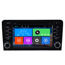 Capacitive Screen 2 Din 7 Inch Car DVD Player For AUDI A3 S3 2003 2004 2005 2006 2007 2008 2009 2010 2011 2012 With Canbus GPS
