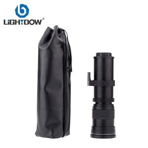Image 4 - Lightdow 420 800mm F/8.3 16 Super Telephoto Lens Manual Zoom Lens +T2 Adaper Ring for Canon  DSLR Cameras EF EF S Mount Lens