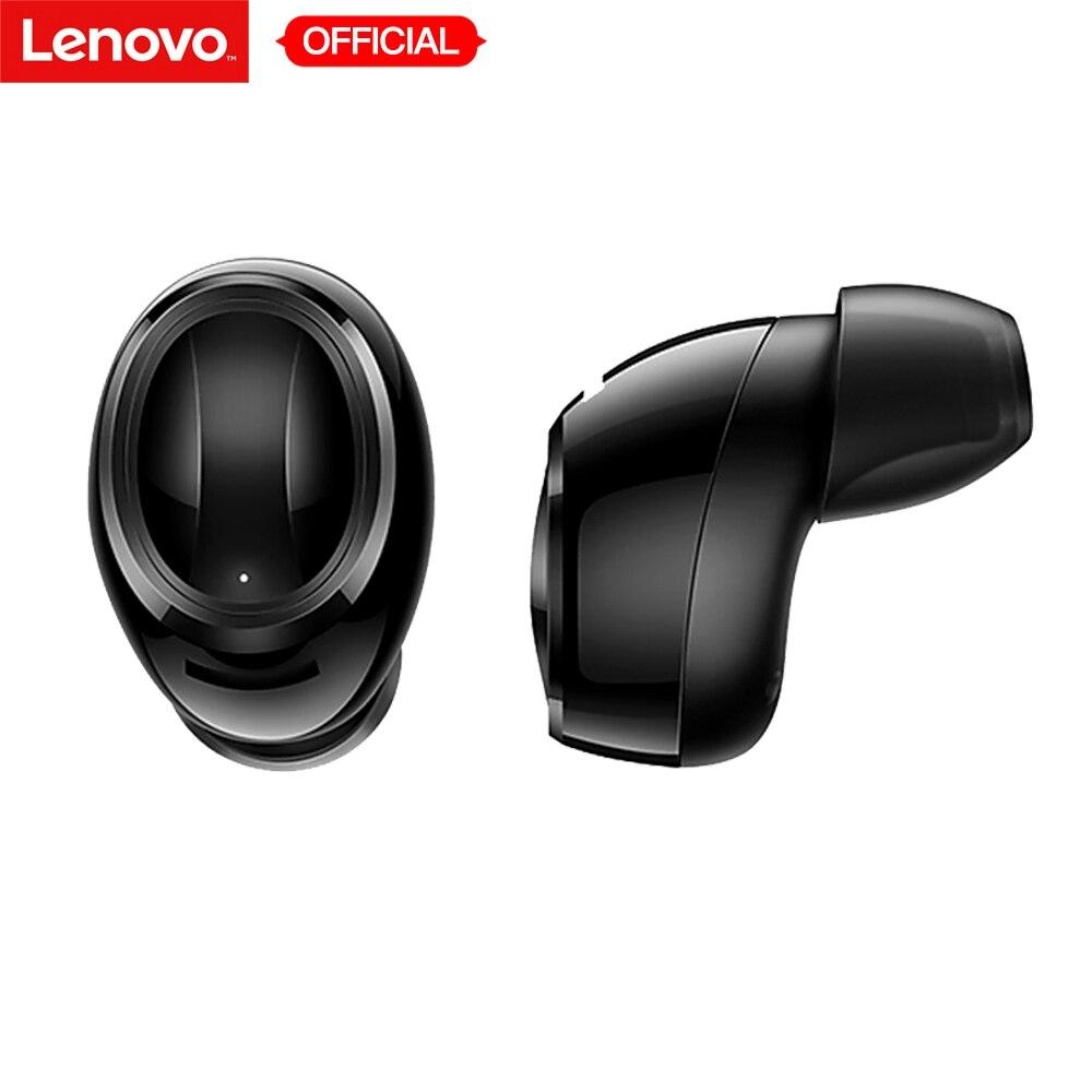 Lenovo Air TWS IPX5 wodoodporne douszne sportowe słuchawki Bluetooth prawdziwe bezprzewodowe wkładki douszne stacja do ładowania z mikrofonem do telefonu komórkowego w Słuchawki douszne i nauszne Bluetooth od Elektronika użytkowa na  Grupa 1