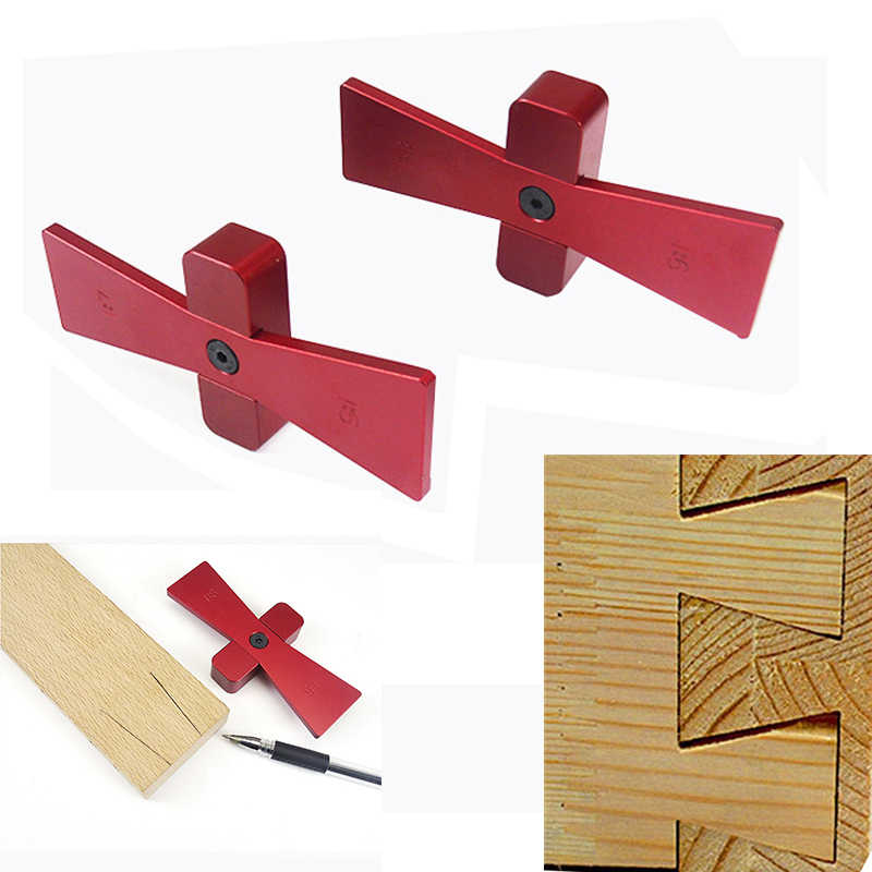Woodworking Carpenter Hand Cut Wood Joints Gauge Dovetail Marker Guide New