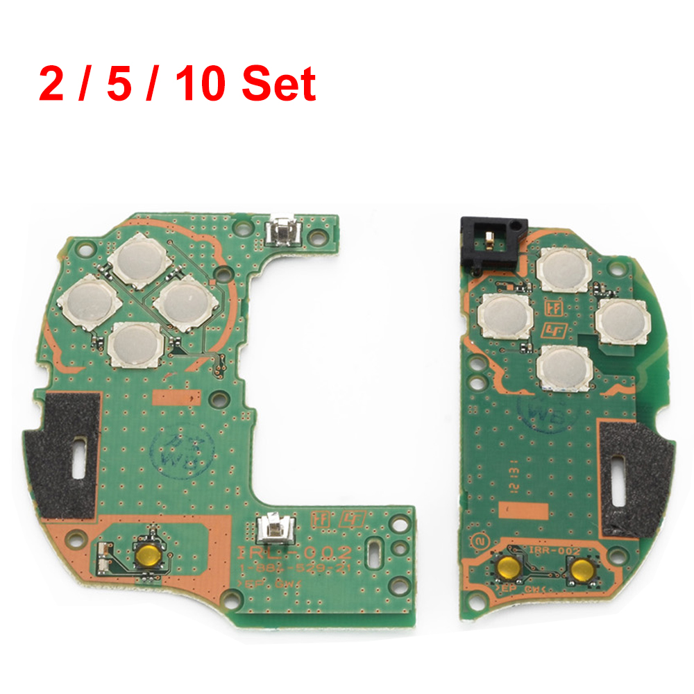 2 / 5 / 10 Sets Repair Part Left & Right Host of Button Circuit Board for PSVita 1000 3G Version