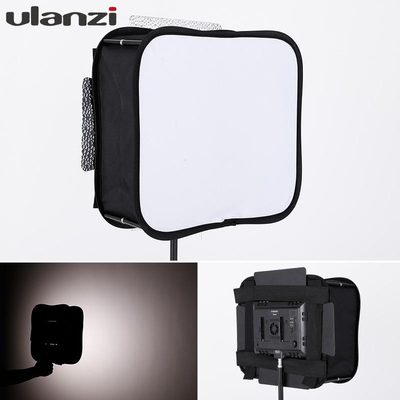 Ulanzi Portable Foldable Flash mini Softbox studio kit Diffuser for YONGNUO Led Video Light Panel YN600L II YN900 YN300 YN300III