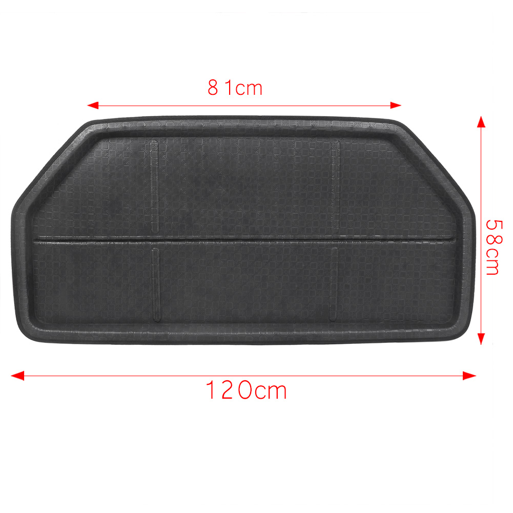 цена на For Honda Odyssey JDM Rear Trunk Cargo Liner Boot Mat Floor Tray Carpet Mud Protector Cover 2014 2015 2016 2017 Automobile Parts