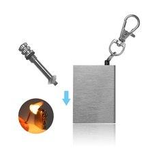 1 шт. брелок для ключей модный Перманентный Страйкер Зажигалка для ключей серебряный цвет брелок стиль