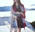 2016 new women spring long scarves female square scarf femme summer owl foulard ladies shawl ethnic oversized wrap sale