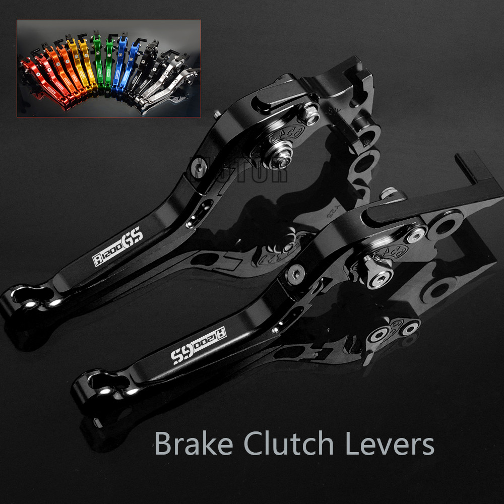 For BMW R1200GS LC R 1200 GS R 1200GS R1200 GS LC 2013 2014 2015 2016 2017 2018 Motorcycle CNC Brake Clutch Levers Adjustable цены онлайн