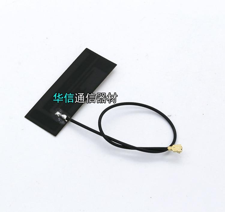 Black Built-in Internal FPC Soft PCB Antenna U.FL IPEX High Gain For LTE 2G 3G 4G GSM CDMA WCDMA TDSCDMA Module