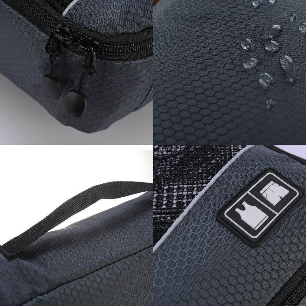 Image 4 - Soperwillton Men Women Travel Bag Male Female 210D Polyester 3 4 6  8 Pieces Packing Cubes Travel Luggage Organizer Cube Set #501Travel  Bags
