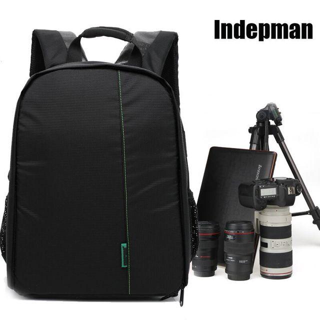 indepman brand New Pattern waterproof Backpack DSLR Camera bag for ...