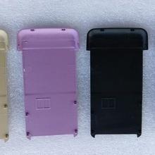 Для samsung S3600 задняя крышка батарейного отсека, чехол для двери, черный серебряный золотой или розовый цвет