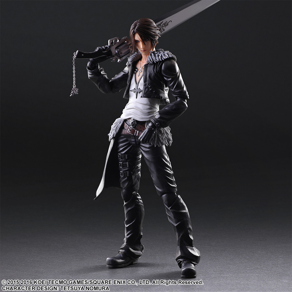 PLAY Arts Kai Final Fantasy 8 Squall Leonhart  PVC Action Figure Collectible Model Toy