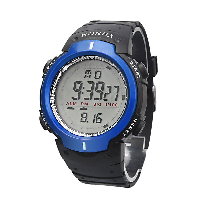 waterproof sports led digital wrist watches