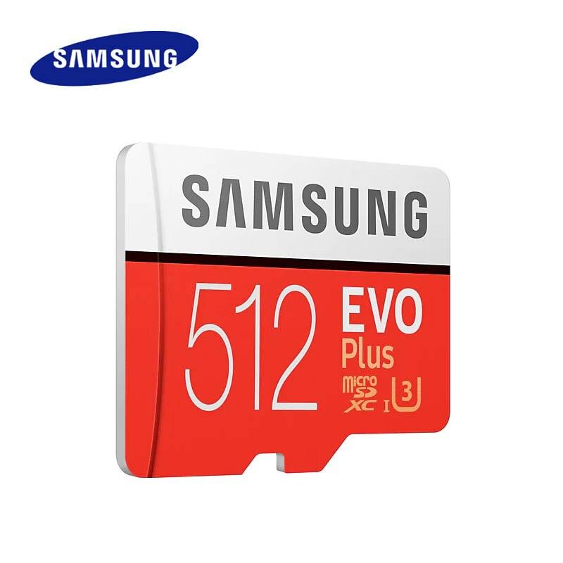 Samsung 512GB micro carte sd C10 carte mémoire flash 100 mo/s SDXC Class10 UHS-I U3 4K 512gb carte TF - 3