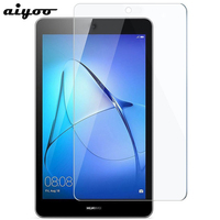 Aiyoo Tempered Glass for Huawei MediaPad T3 7.0 BG2-W09 Screen Protector Tempered Glass Film for Huawei T3 7 WiFi Version Tablet