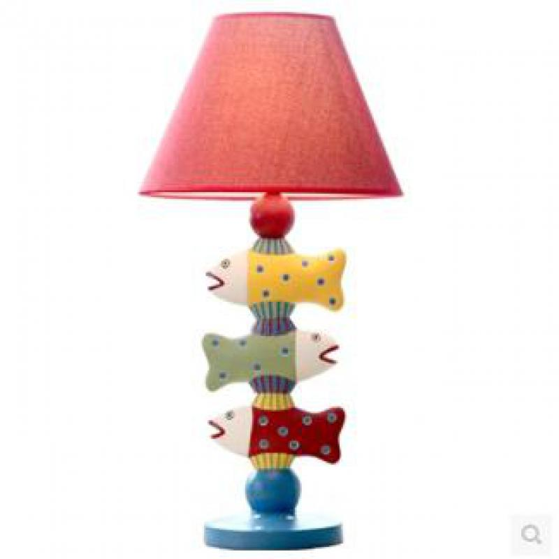 Amazing Creative Fashion Lovely Healthy Resinthree Fish Led E27 Table Lamp For  Bedroom Childrenu0027s Room Birthday Present