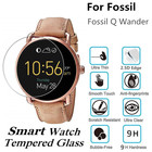 10PCS Tempered Glass for Fossil Q Wander Smart Watch Screen Protector D40mm Round Protective Film